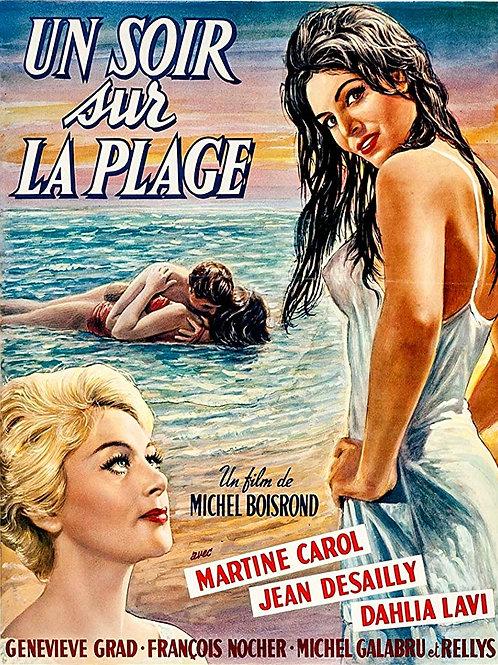 AQUELA NOITE NA PRAIA (Un Soir Sur la Plage, 1961)