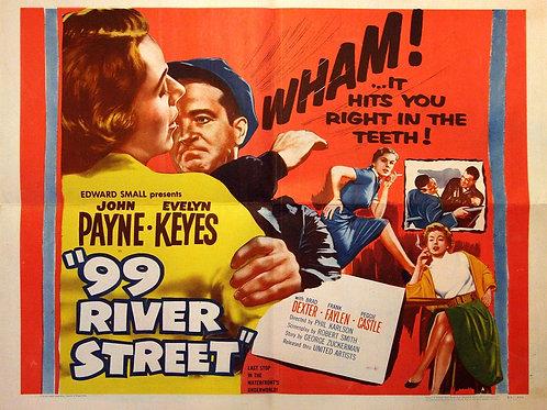 A MORTE RONDA O CAIS (99 River Street, 1953) - DVD legendado em português