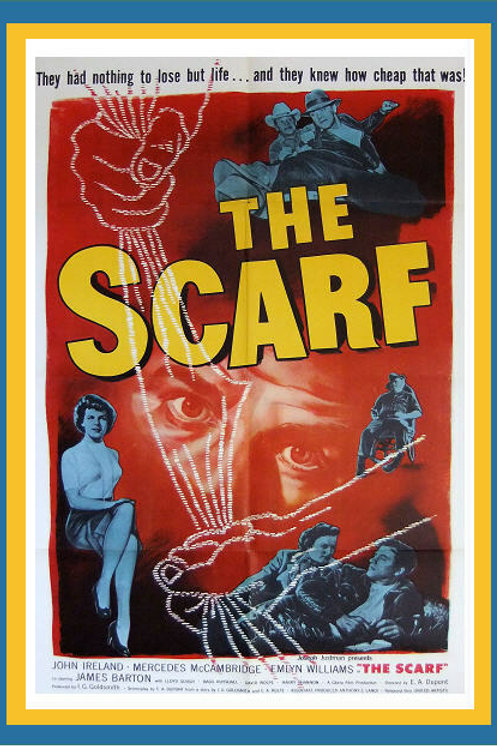 EVIDÊNCIA TRÁGICA (The Scarf, 1951)