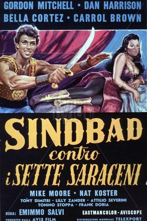 SIMBAD, O TIRANO DO DESERTO (Simbad  Contro I Sette Saraceni, 1964)