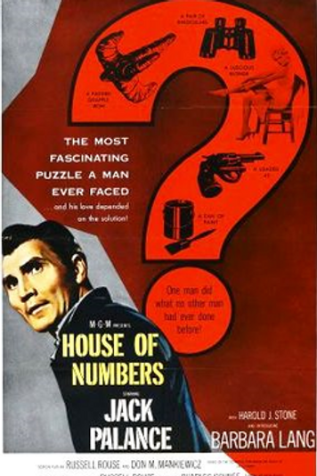 A CASA DOS HOMENS MARCADOS (The House of Numbers, 1957)