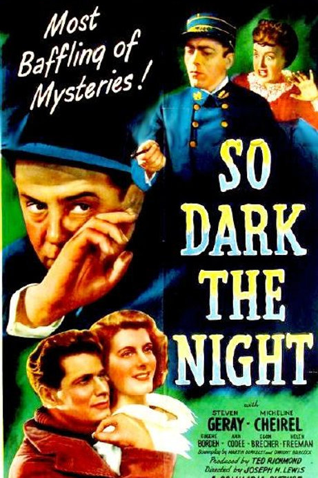 SATÃ PASSEIA À NOITE (So Dark The Night, 1946)