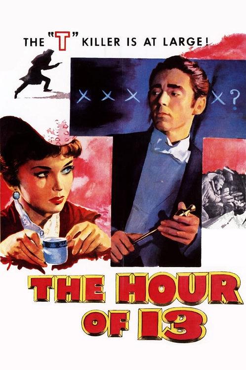 CAMINHOS DA NOITE (The Hour of 13, 1952)