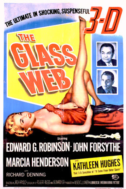 O CRIME DA SEMANA (The Glass Web, 1953)