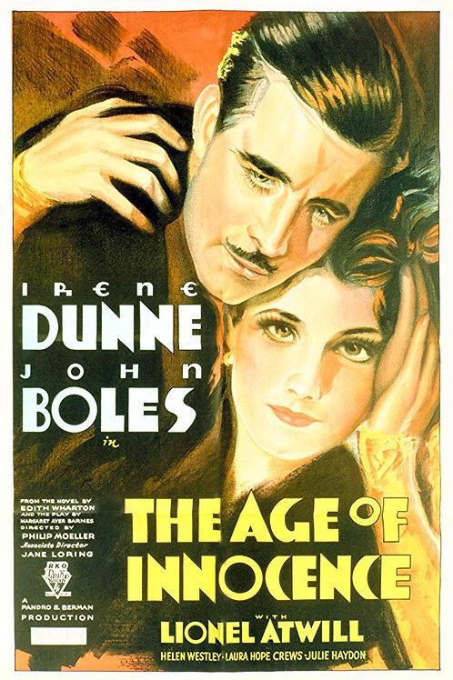 NO TEMPO DA INOCÊNCIA (The Age of Innocence, 1934)
