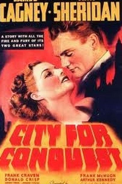 DOIS CONTRA UMA CIDADE INTEIRA (City For Conquest, 1940) - Legendado