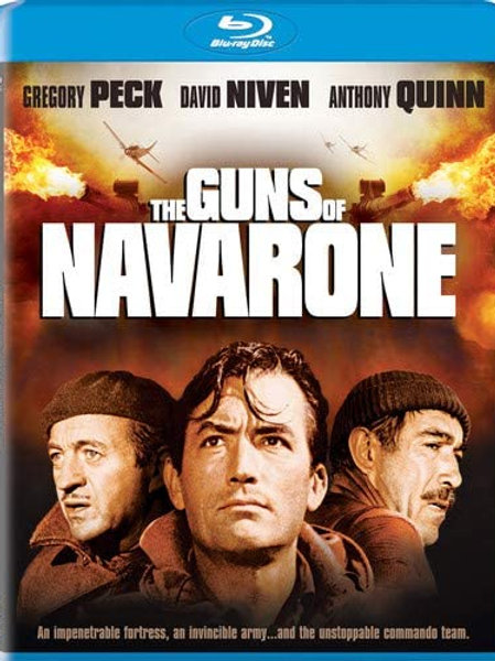 OS CANHÕES DE NAVARONE (The Guns of Navarone, 1961)