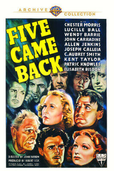 CINCO DEVEM VIVER (Five Came Back, 1939)