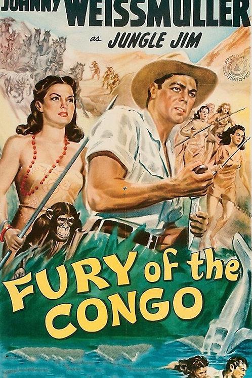 FÚRIA NO CONGO (Fury of the Congo, 1951)