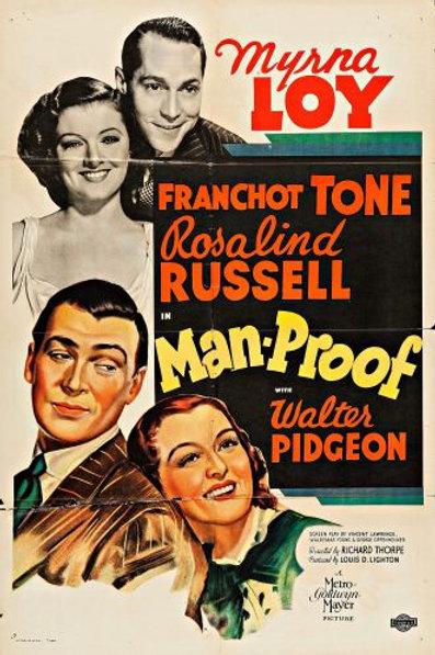 AMOR DE IDA E VOLTA (Man-proof, 1938)