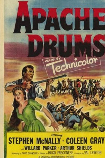 FLECHAS DA VINGANÇA (Apache Drums, 1951)