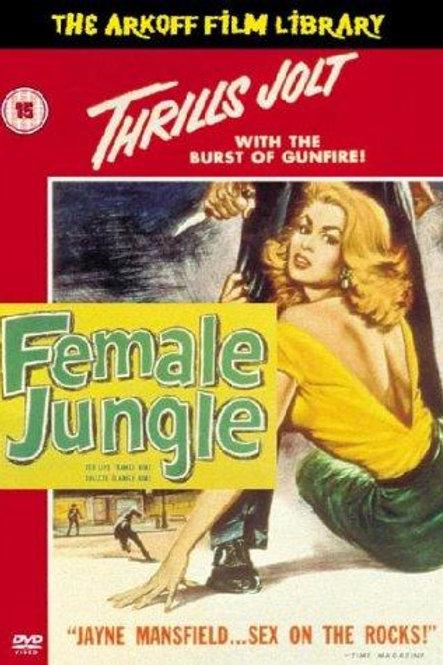 A RESSACA (Female Jungle, 1955)
