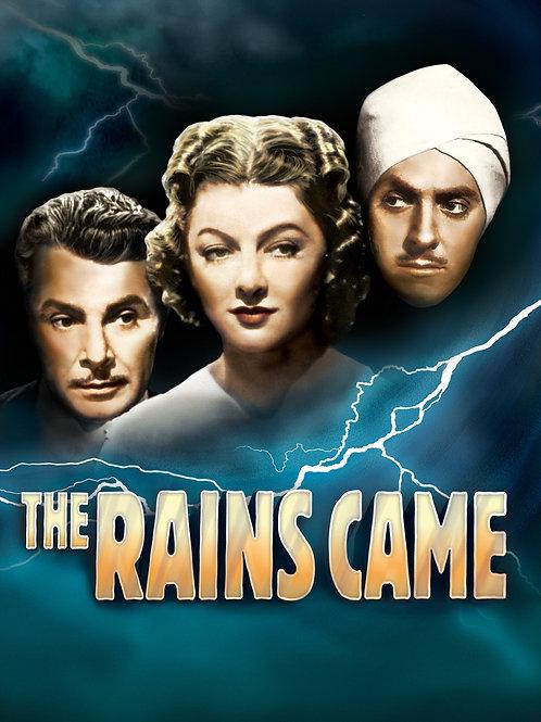 E AS CHUVAS CHEGARAM (The Rains Came, 1939)