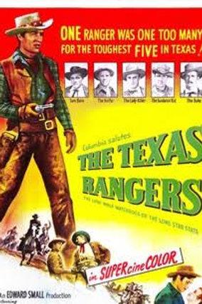 O MANTO DA MORTE (The Texas Rangers, 1951)
