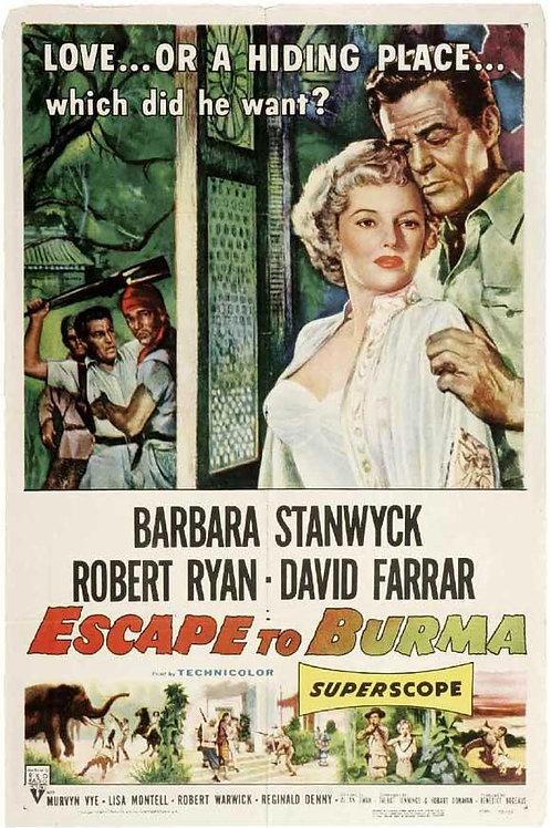 SELVAS INDOMÁVEIS (Escape To Burma, 1955) DVD legendado em português