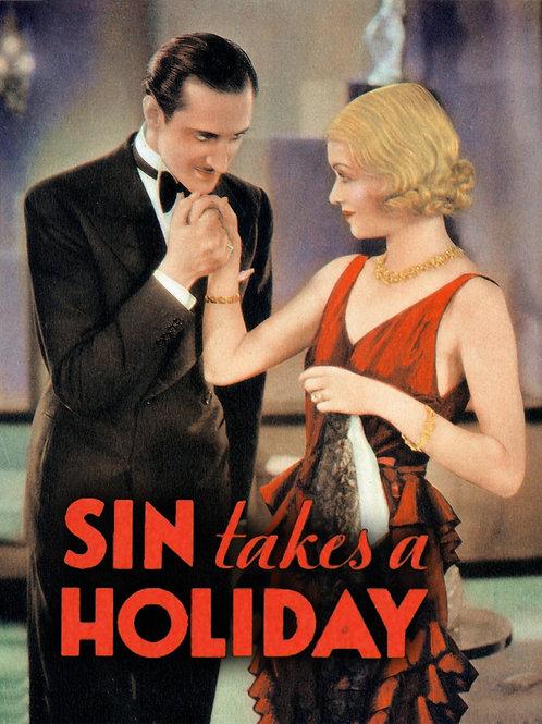 CASADA E SEM MARIDO (Sin Takes a Holiday, 1930)