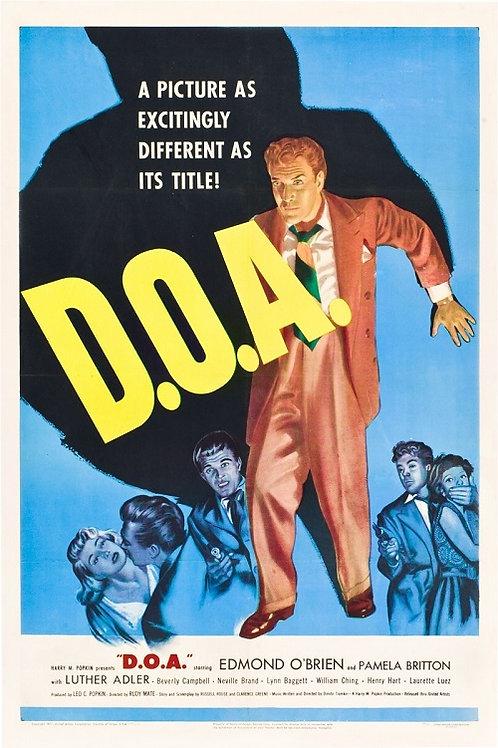 COM AS HORAS CONTADAS (D.O.A., 1950)