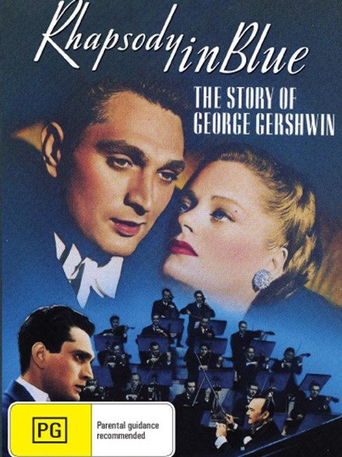 RAPSÓDIA AZUL (Rhapsody In Blue, 1945)