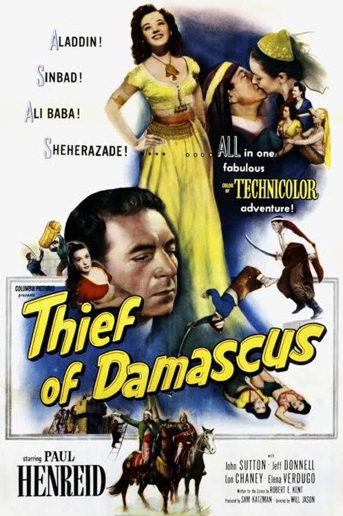 A PRINCESA DE DAMASCO (The Thief of Damascus, 1952)