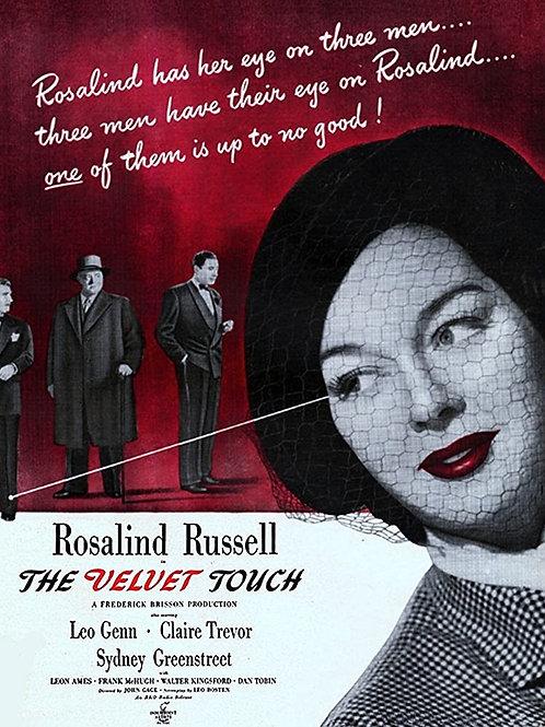 A ÚLTIMA NOITE DE GLÓRIA (The Velvet Touch, 1948)