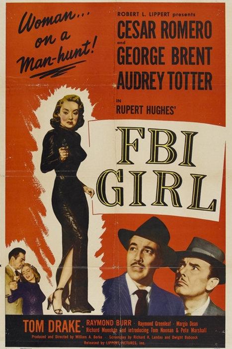 MULHER E CRIME (F.B.I. Girl, 1951)