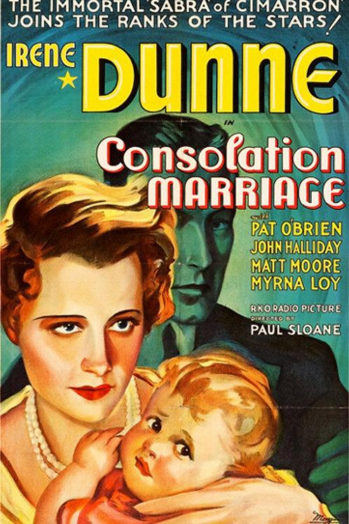 CASAMENTO DE CONSOLAÇÃO (Consolation Marriage, 1931)