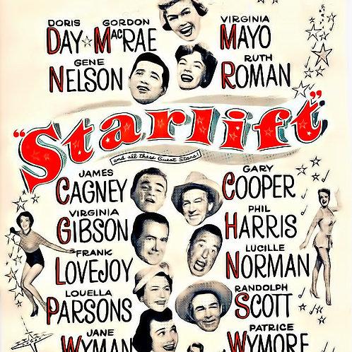 ESTRELAS EM DESFILE (Starlift, 1951) - Legendado