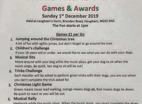 Christmas Games and Awards afternoon