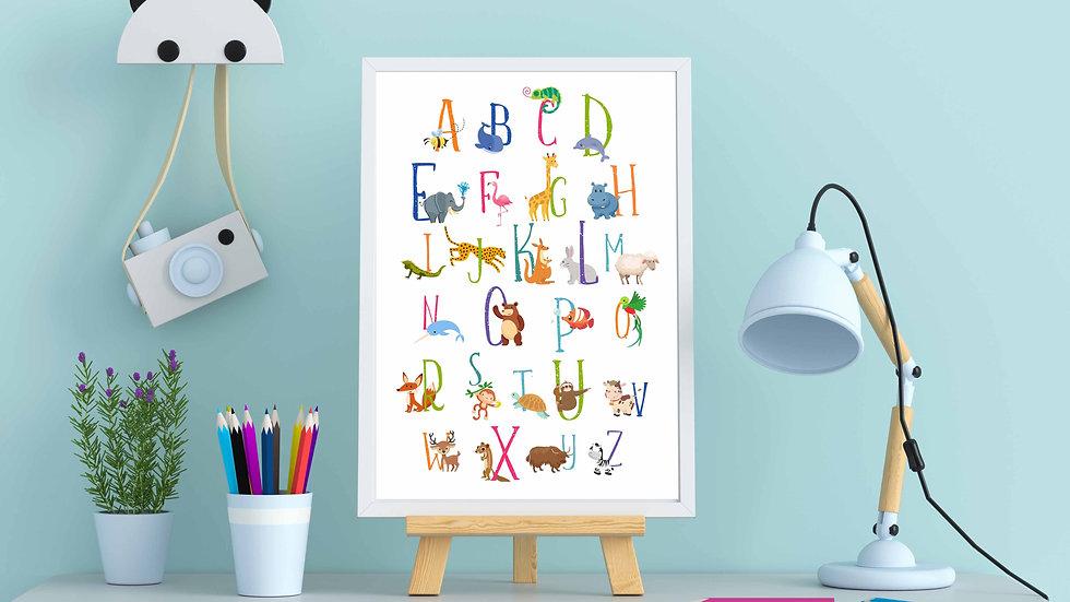 Affiche ABC