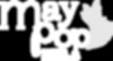 Maypop Coffee & Garden Shop logo white