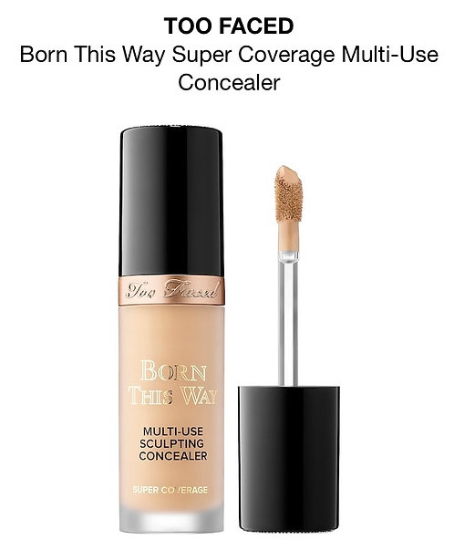 Too Faced BORN THIS WAY Super Coverage GOLDEN BEIGE 0.50oz.