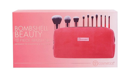 BOMBSHELL BEAUTY 10 Pieces brush set Bh Cosmetic.