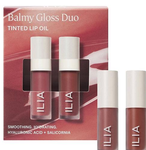 ILIA Mini Balmy Gloss Tinted Lip Oil Duo
