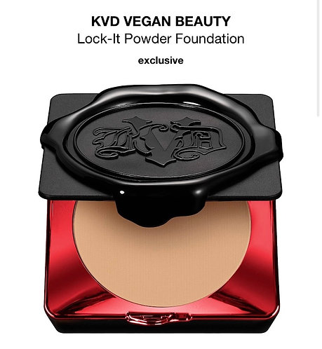 KVD LOCK-IT Powder Foundation MEDIUM 140 0.31oz