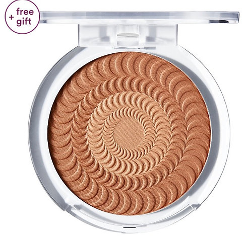 BUXOM STACATION VIBES Primer-Infused Bronzer Avec Base.