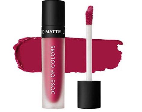 Dose Of Color  liquid Matte Lipstick Talk Is Chic