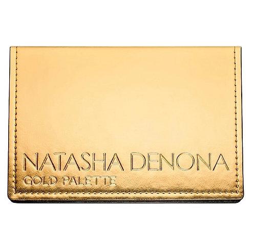 NATASHA  DENONA Gold eyeshadow Palette.