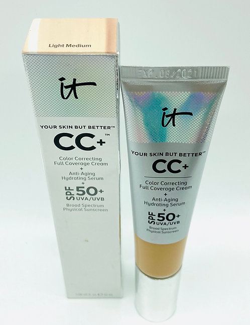 It Cosmetics CC+ Ilimination SPF 50+ 1.08oz. Light Medium.