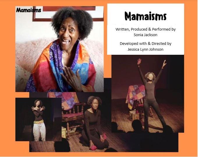 Mamaisms - Nov 8 @ 6pm PST