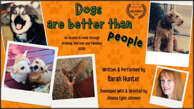 Dogs Are Better Than People - Mar 13 @ 7pm PST