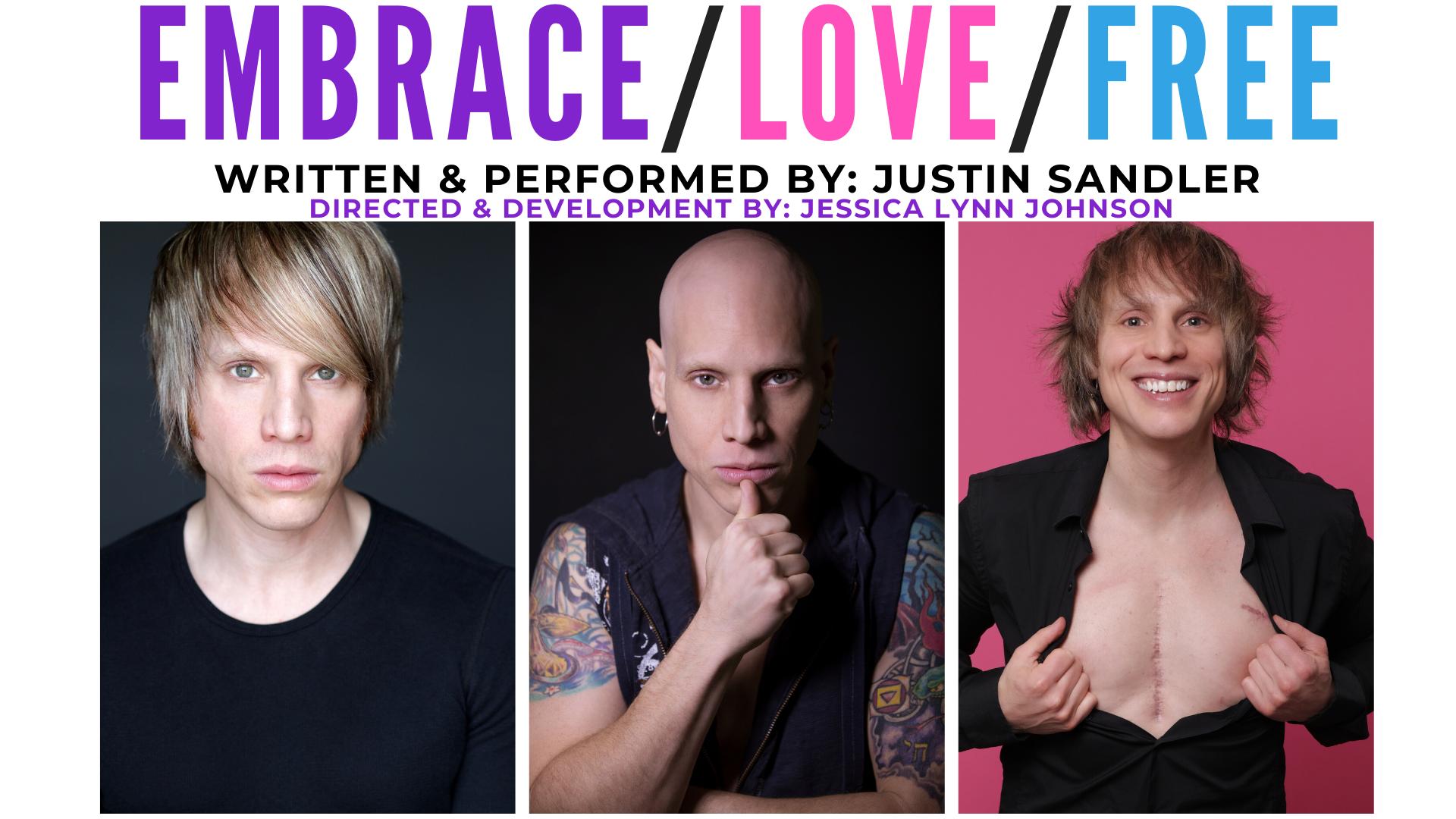 Embrace Love Free Feb 25 @ 6pm PST