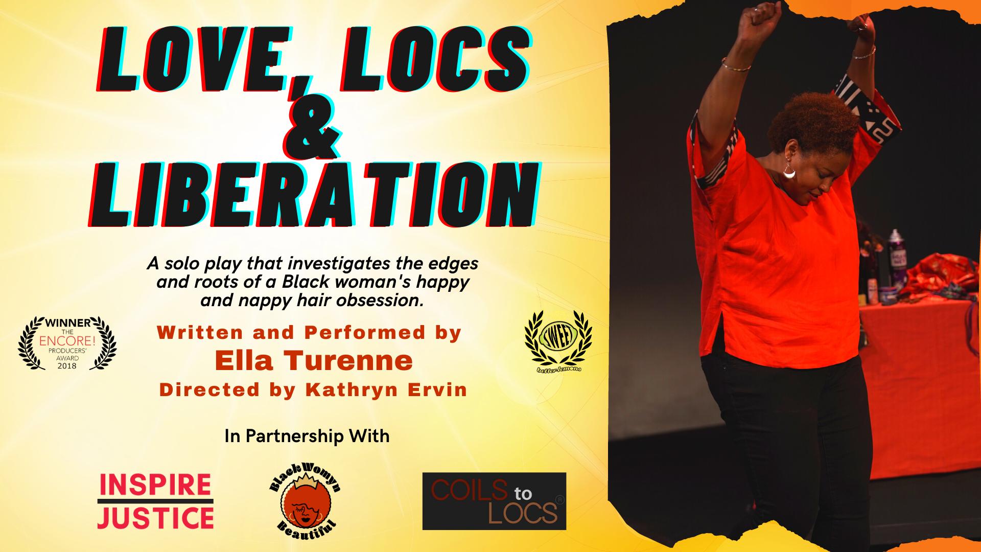 Love, Locs & Liberation Feb 19 @ 7pm PST