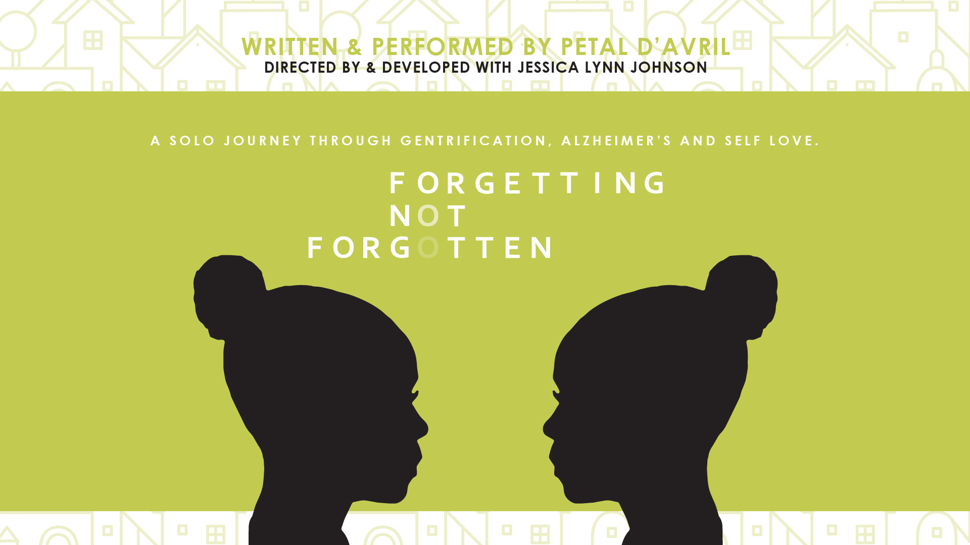 Forgetting, Not Forgotten - Nov 6th @ 7p