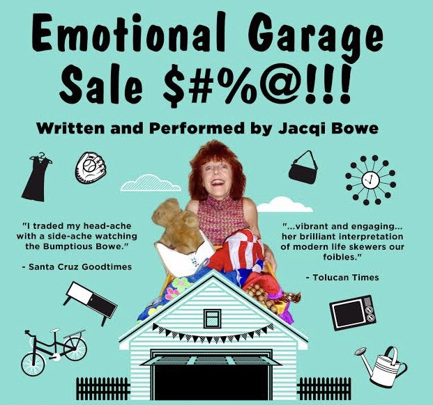 Emotional Garage Sale - April 24th @7pm PDT