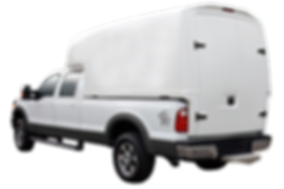 Durashell 335 and 385 Slip On Composite Utility Body for 6.5' and 8' Beds