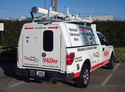 SnugPRO Commercial Truck Cap Nationwide Shipping