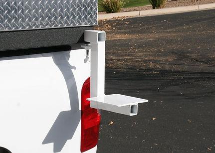 Vise mount bracket, service body accessories, Load N Go, Truck Body