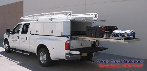 Load'N'Go Truck Body, Slip On Utility Body, Transferable Truck Body, Service Body. Work Truck Solutions
