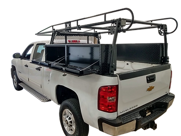 Truck Up-Fit Tool Box and Ladder Rack Package