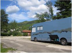 Camping Nantua grand emplacement